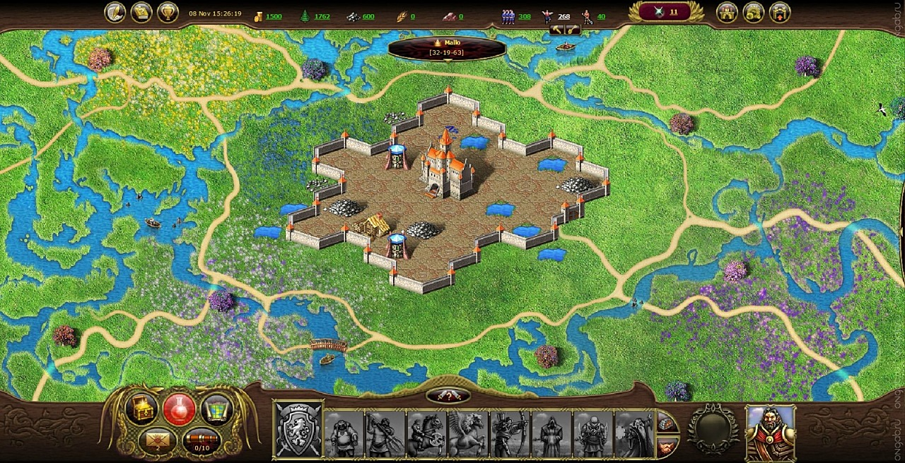 an overview of your land and my land city and village