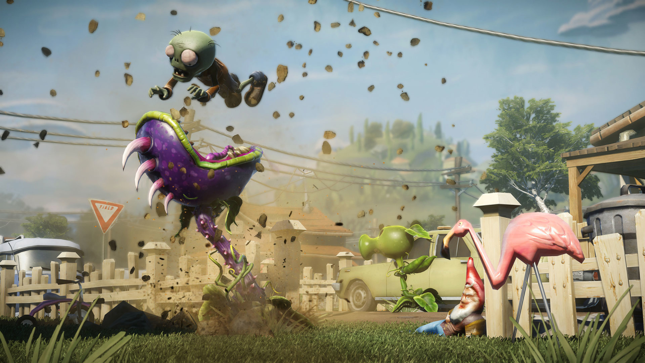 Скриншот Обои Plants vs. Zombies: Garden Warfare  #449180
