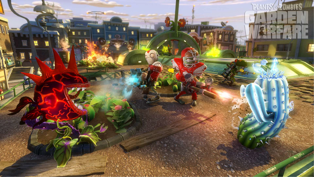 Скриншот Обои Plants vs. Zombies: Garden Warfare  #449178