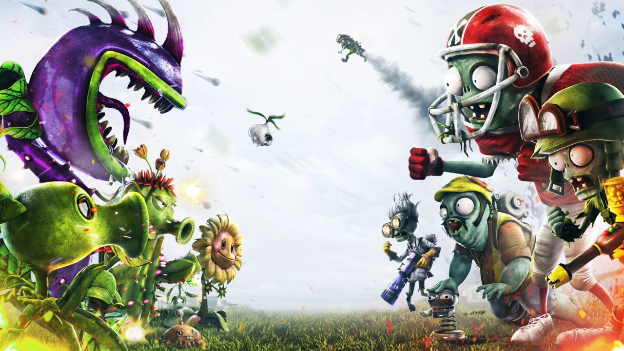 Скриншот Обои Plants vs. Zombies: Garden Warfare  #449179