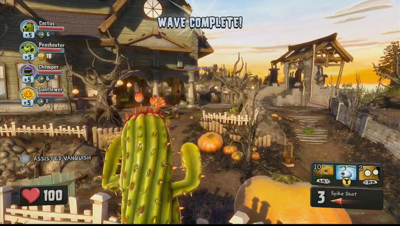 Скриншот Обои Plants vs. Zombies: Garden Warfare  #449182