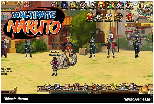 Скриншот Скриншот Ultimate Naruto #275352