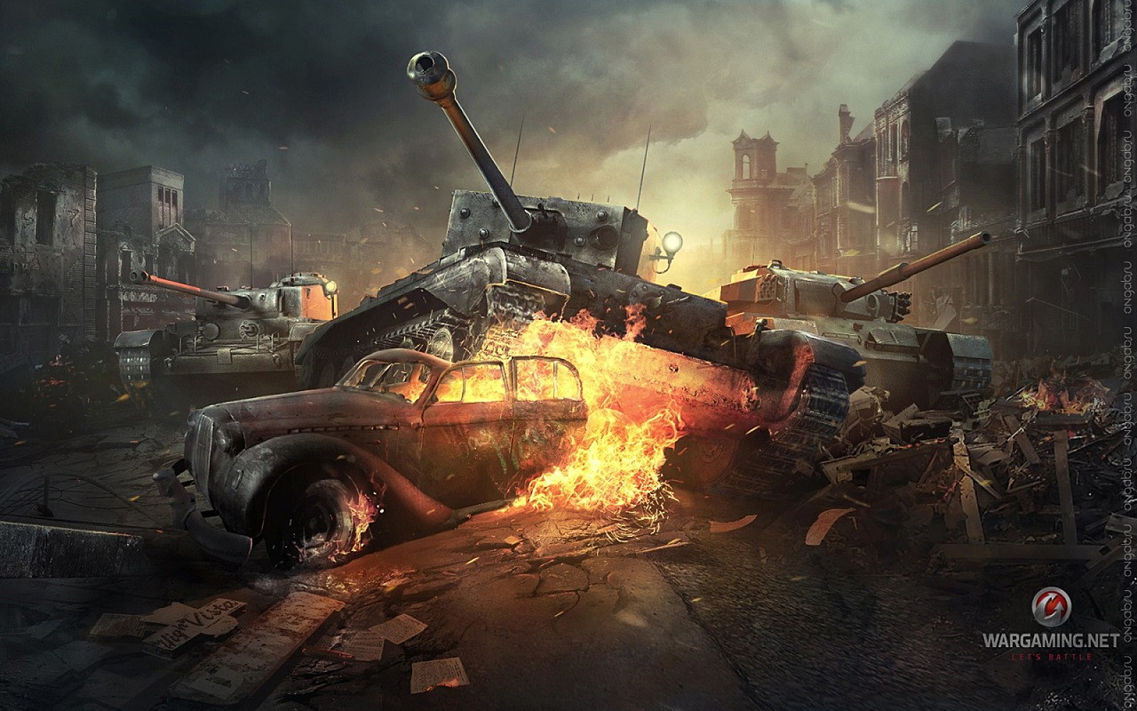 Скриншот HD обои World of Tanks